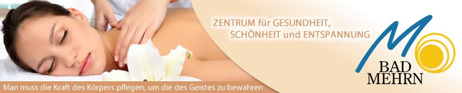 Heilbad Mehrn – Therapie – Physiotherapie – Heilmassage – Kosmetik – Fußpflege